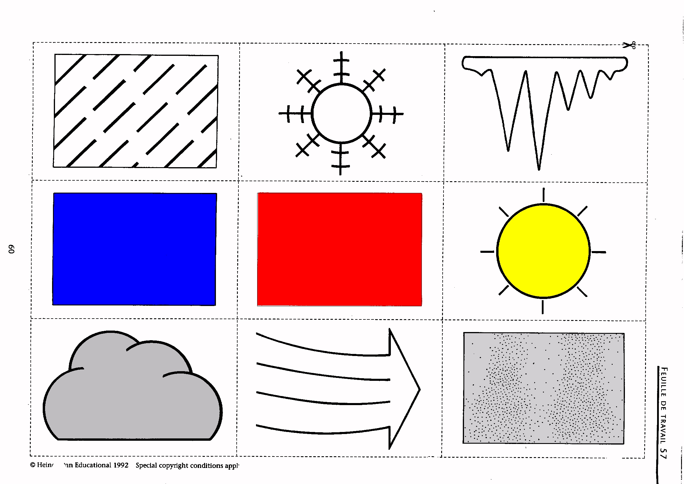 Free Worksheet Learning French Worksheets french ks3 worksheets weather symbols jpg 728 kb