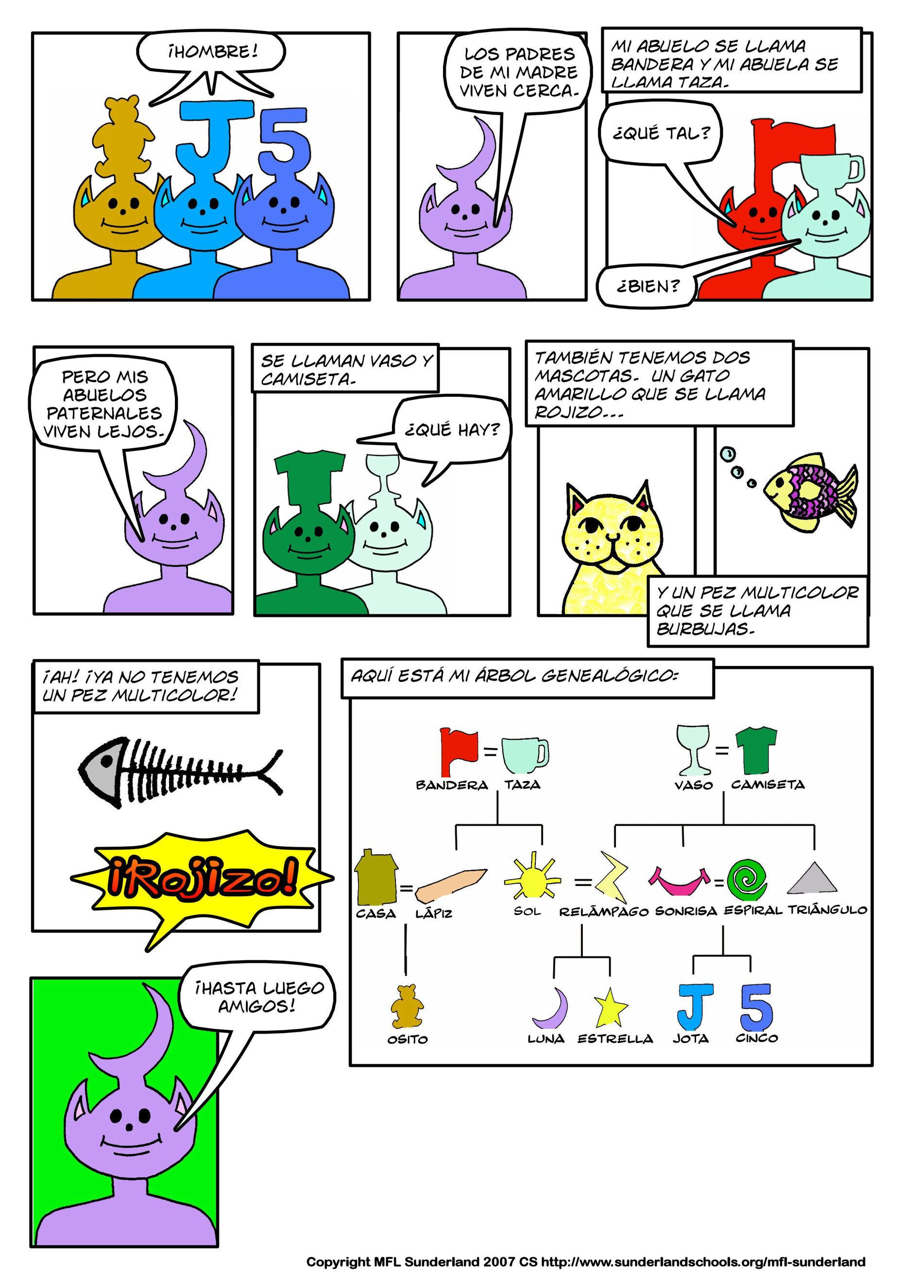 worksheet La Familia Worksheets spanish ks3 audio visual worksheet pdf 115 kb